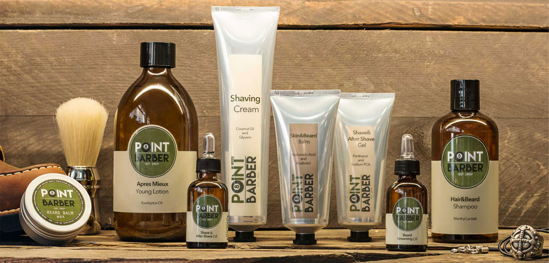Point Hair prodotti per la barba