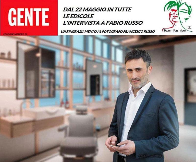 Fabio Russo intervista su GENTE